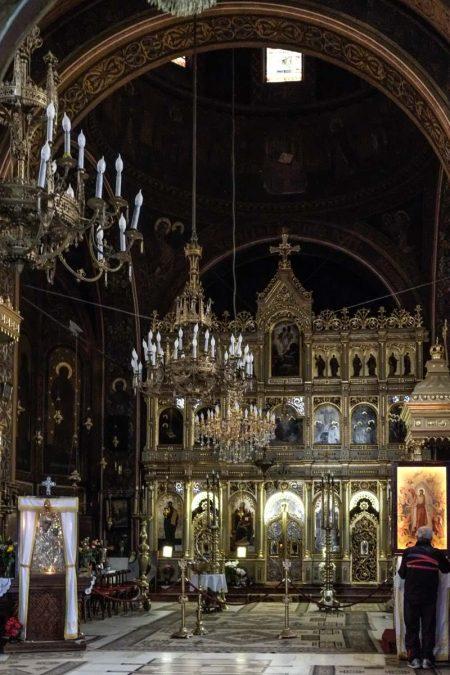 Dans l'Eglise Noire