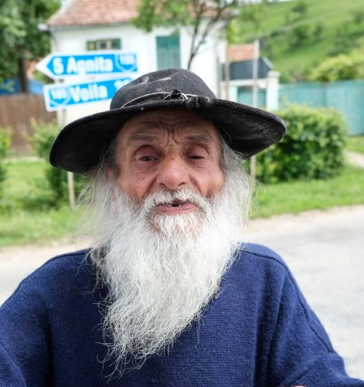 Roumanie, vieux tzigane