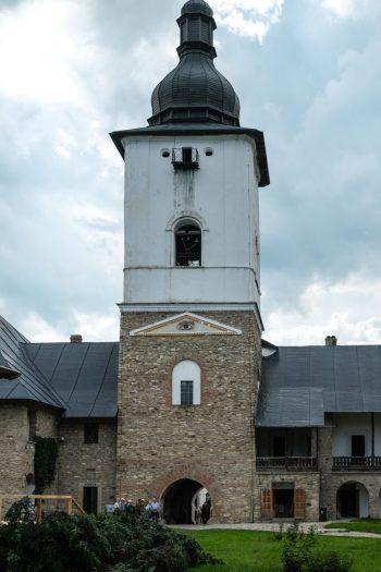 Roumanie, Moldavie, Monastère de Neamt, la tour