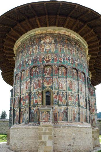 Roumanie, Bucovine, Monastère de Sucevita, l'église