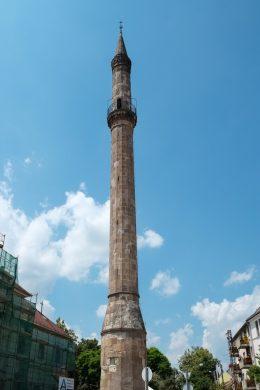 Le minaret d'Eger est le dernier vestige de la mosquée Kethüda
