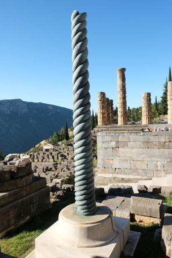La colonne torse (trépied de Platées)