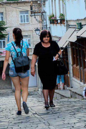 Dans une rue du vieux bazar