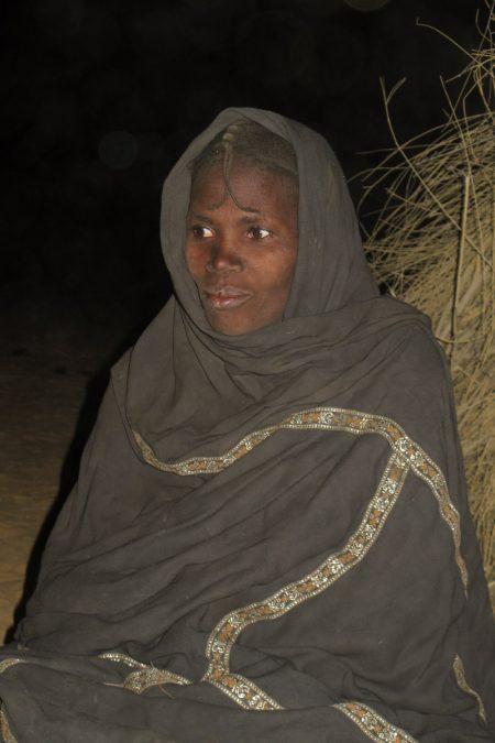 Mali, Gourma, femme du désert