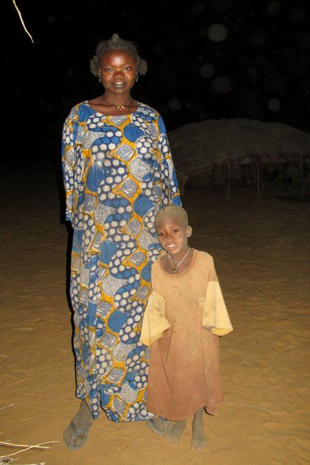 Mali, femme et enfant du Gourma