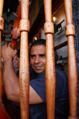 Cuba ,La Havane,musicien à la bodeguita del medio