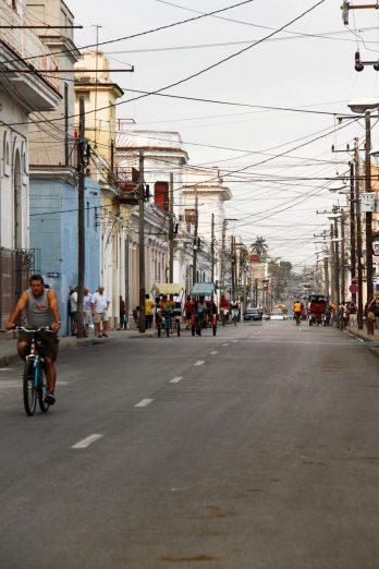 Cuba, Cienfuegos, une rue