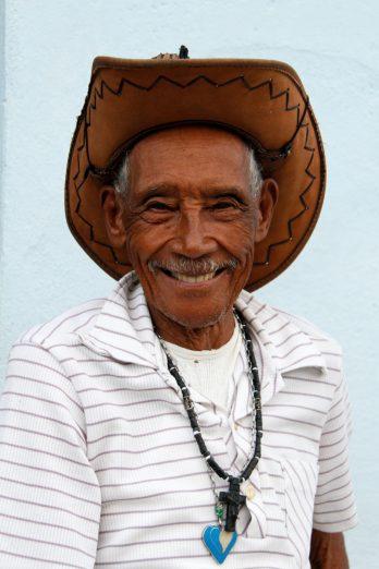 Un habitant de Cienfuegos