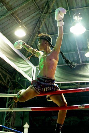Thailande, Chiang Mai, boxe thaïe