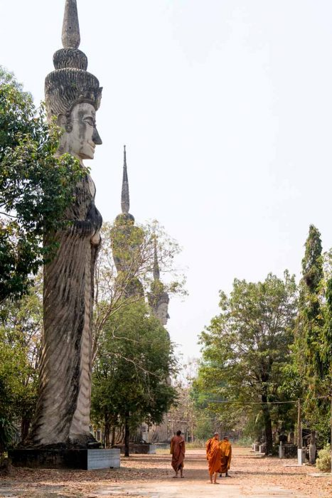 Thailande, Nong Khai, le Wat Khaek « Sala Keoku », un parc de sculptures absolument délirant