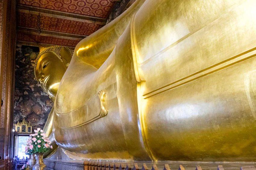 Le grand bouddha couché du Wat Pho