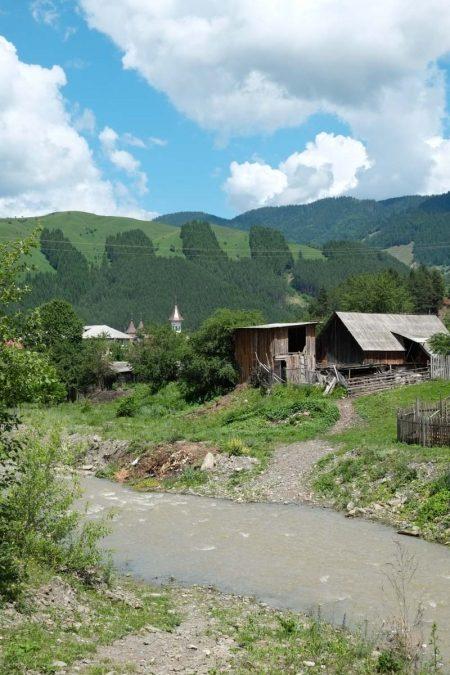 Roumanie, Moldavie, près du village de Tasca