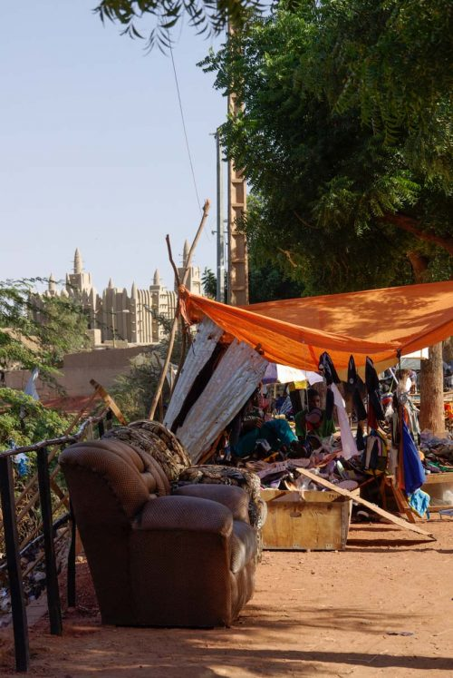 Mali, Mopti, canapé